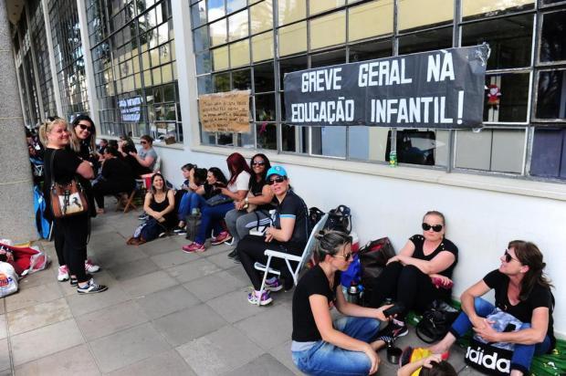 Reunião entre prefeitura e professores definirá futuro da greve da Educação Infantil, em Caxias Porthus Junior/Agencia RBS