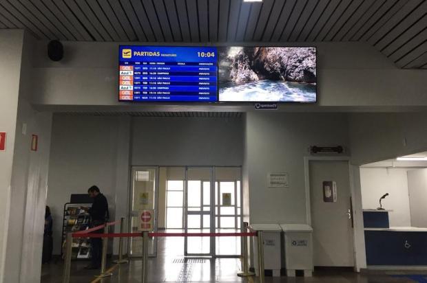 Aeroporto de Caxias do Sul ganha painéis com informações de voos André Fiedler/Agência RBS