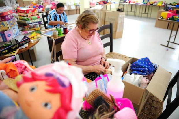 Projeto de Farroupilha recolhe, conserta e distribui brinquedos para crianças carentes Diogo Sallaberry/Agencia RBS
