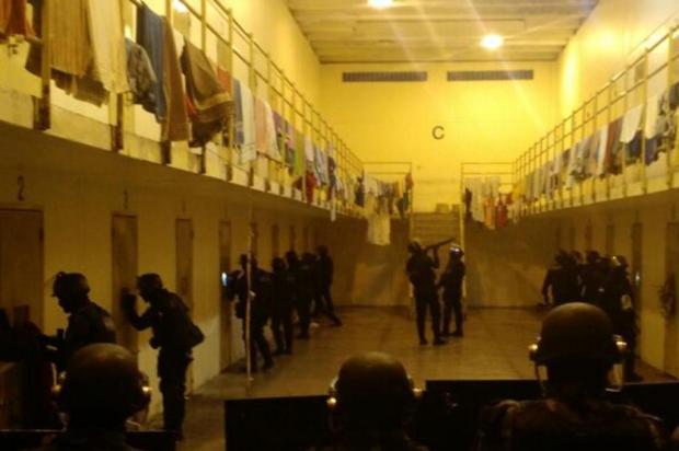 Susepe e Brigada Militar finalizam revista geral na penitenciária do Apanhador Susepe/Divulgação