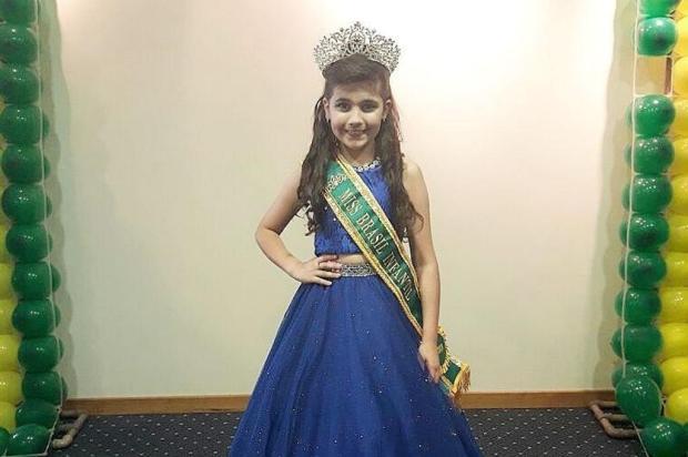 3por4: Caxiense é eleita Miss Brasil Infantil Fabiana Lucena Camargo/Divulgação
