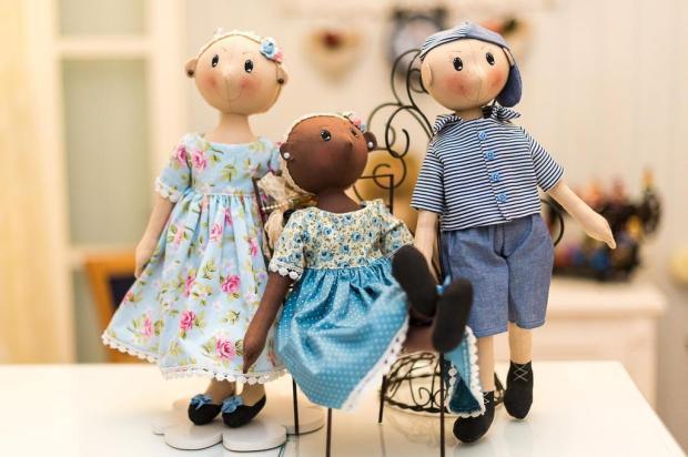 3por4: Em Caxias, artista cria bonecos para simbolizar a luta contra o câncer infantil Fábio Grison/Divulgação