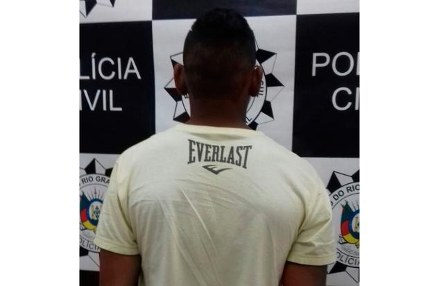 Polícia Civil apreende terceiro participante de feminicídio em Vacaria Divulgação/