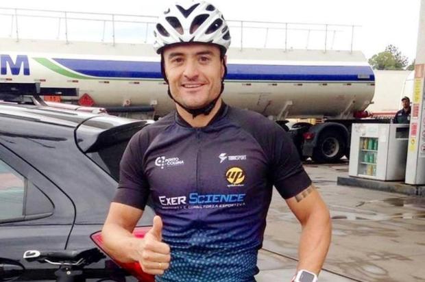 Policial de Caxias do Sul garante vaga no Campeonato Mundial de Triathlon BM/Divulgação