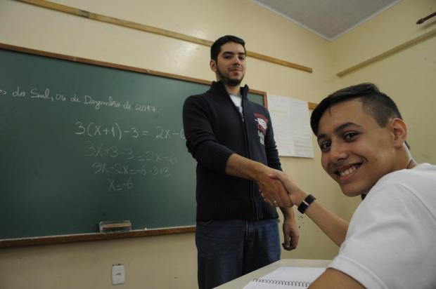 Aluno de escola pública de Caxias é um dos vencedores da medalha de ouro na Olimpíada Brasileira de Matemática Roni Rigon/Agencia RBS