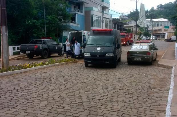 Grupo de Ações Táticas da BM é chamado para remover explosivos em banco na Serra BM / Divulgação/Divulgação