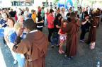 Freis Capuchinhos darão bênção de fim de ano na Praça Dante, em Caxias (Diogo Sallaberry/Agencia RBS)