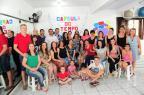 """Moradores do bairro Santa Lúcia, em Caxias abrem """"cápsula"""" guardada em 2012 (Porthus Junior/Agencia RBS)"""