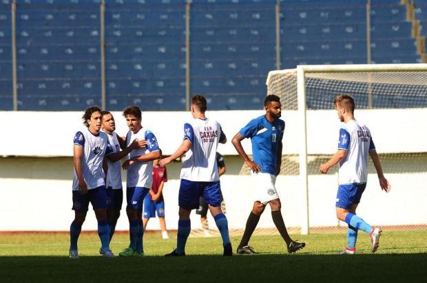 Em jogo-treino movimentado, Caxias vence o segundo teste de preparação ao Gauchão Diogo Sallaberry/Agencia RBS