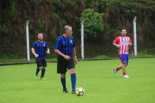 Técnico da Seleção Brasileira, Tite participa de jogo amistoso do Carrosel, em Caxias do Sul Roni Rigon/Agencia RBS
