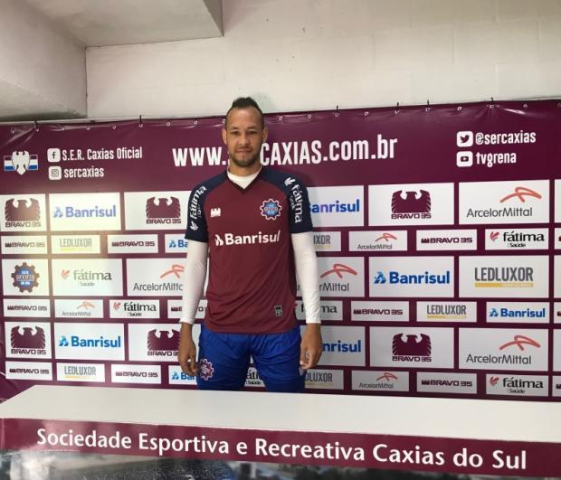 Júnior Alves afirma que objetivo é levar o Caxias à final do Gauchão 2018 Cristiano Daros / Jornal Pioneiro/Jornal Pioneiro