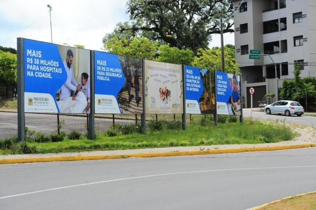 Publicidade da prefeitura de Caxias é alvo de fortes críticas da oposição Porthus Junior/Agencia RBS