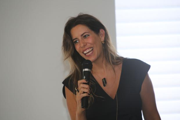 Luiza Bomeny, do Istituto Marangoni, palestrou na Palladio's Décor Leandra Romani / Divulgação/Divulgação