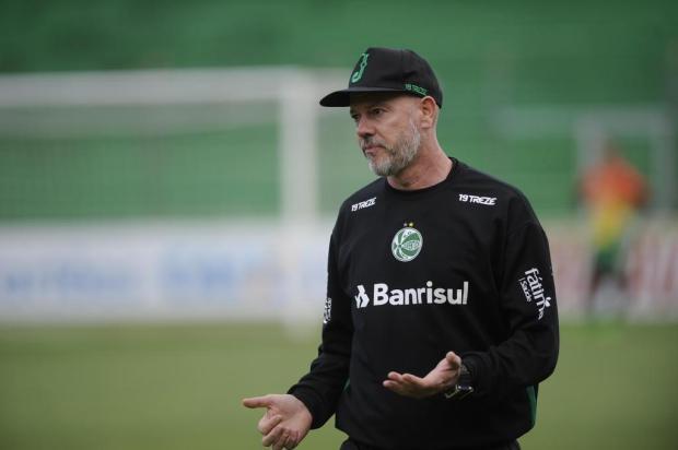 Apesar do empate amargo, técnico Antônio Carlos Zago gostou da atuação do Juventude Porthus Junior/Agencia RBS