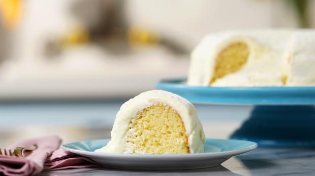 Faça bolo vulcão de leite ninho /