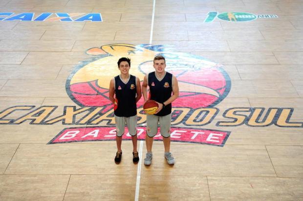 Dupla de jovens promessas do basquete caxiense vai treinar nos Estados Unidos Diogo Sallaberry/Agencia RBS