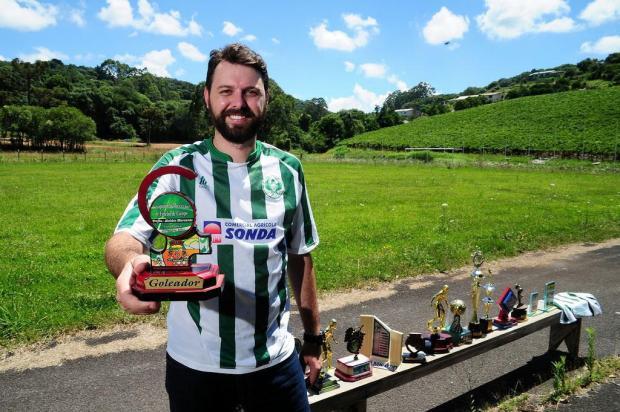 Amadores Futebol Clube: conheça Roger Boniatti do Paduense Marcelo Casagrande/Agencia RBS
