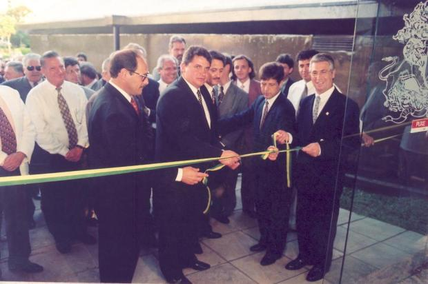 Memória: governador Sartori no legislativo caxiense Roni Rigon/banco de dados