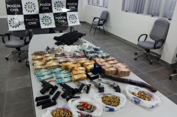 Operação Paiol apreende pelo menos R$ 300 mil em depósitos de drogas de Caxias do Sul Lucas Demeda/Agencia RBS