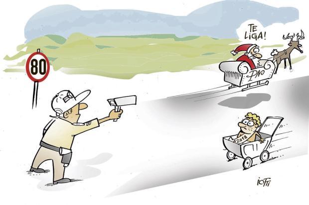 Iotti: fiscalização nas estradas Iotti/