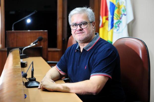 """""""Sou esforçado"""", diz novo presidente da Câmara de Vereadores de Caxias do Sul Diogo Sallaberry/Agencia RBS"""