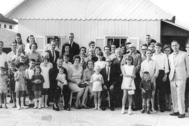 Memória: família Mondadori no Rio Grande do Sul Acervo pessoal de Pedro Ivan de Oliveira Mondadori/Divulgação