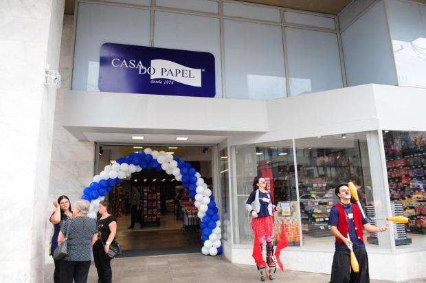 Casa do Papel abriu as portas nesta terça-feira no ponto da antiga loja Fedrizzi Roni Rigon/Agencia RBS