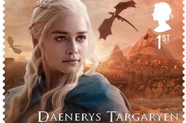 3por4: serviço de correios do Reino Unido lança selos postais temáticos de Game of Thrones reprodução/reprodução