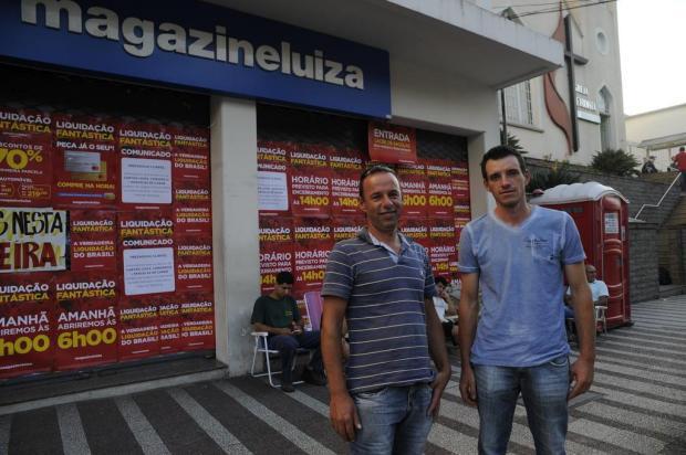 Consumidor de Caxias passará a madrugada na fila para a Liquidação Fantástica Marcelo Casagrande/Agencia RBS