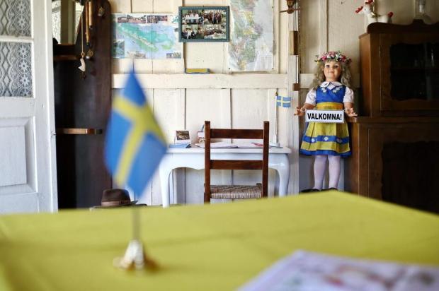 Museu na Linha Jansen, em Farroupilharevela hábitos e costumes da Suécia, trazidos à região pelos imigrantes Carlos Macedo/Agencia RBS
