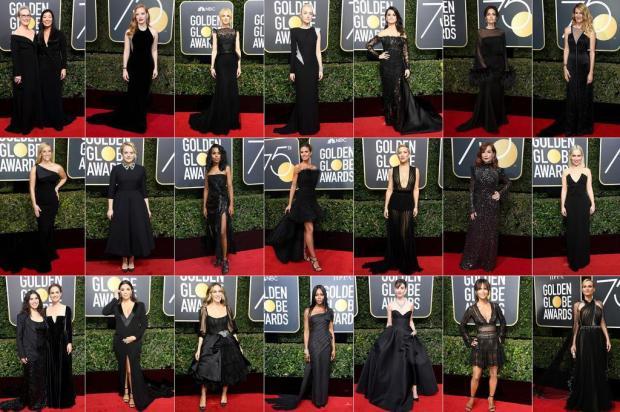Globo de Ouro abre eventos de premiação declarando guerra ao abuso de poder em Hollywood AFP/AFP