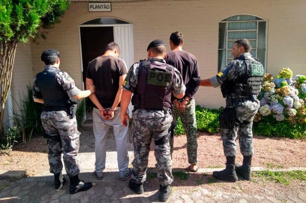 Brigada Militar prende gêmeos por tráfico de drogas em Canela Brigada Militar / Divulgação/Divulgação