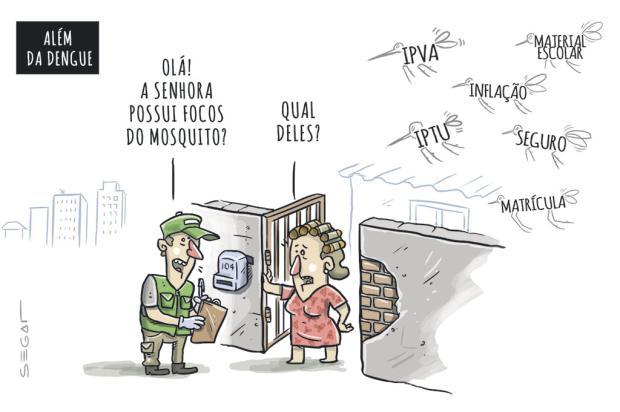 Segat: além da dengue... Charles Segat/