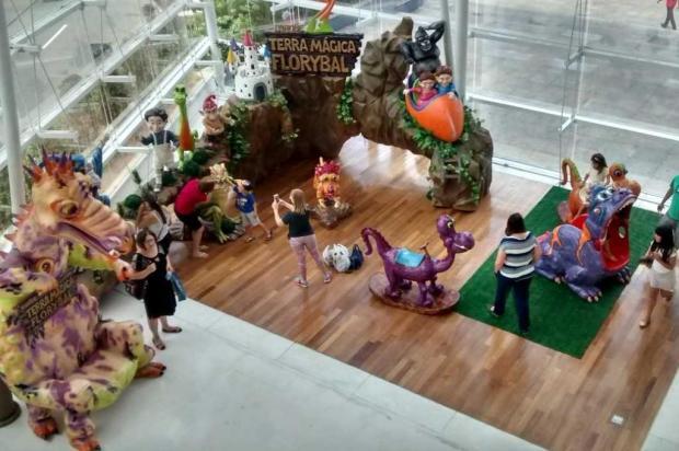 Réplica do Parque Terra Mágica Florybal é destaque no Shopping San Pelegrino Monica Reis/divulgação