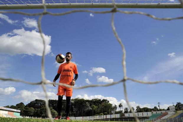 Identificado com o clube, atacante Juba é uma das referências do Veranópolis para 2018 Marcelo Casagrande/Agencia RBS