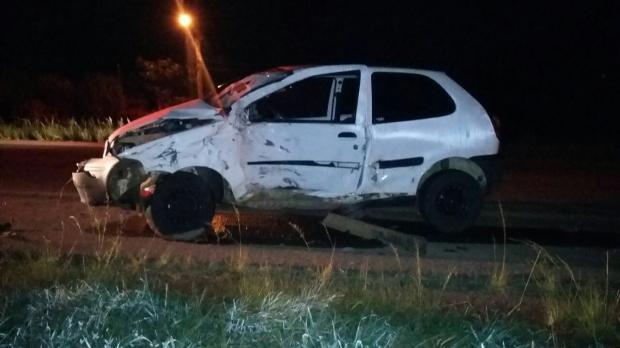 Jovem morre em acidente na BR-285, em Vacaria PRF / divulgação/divulgação