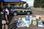 Homem é preso pela terceira vez com mercadorias ilegais do Paraguai, em Vacaria (PRF/Divulgação)