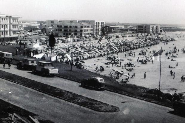 Memória: a nostálgica praia dos veranistas caxienses Foto feltes/Divulgação