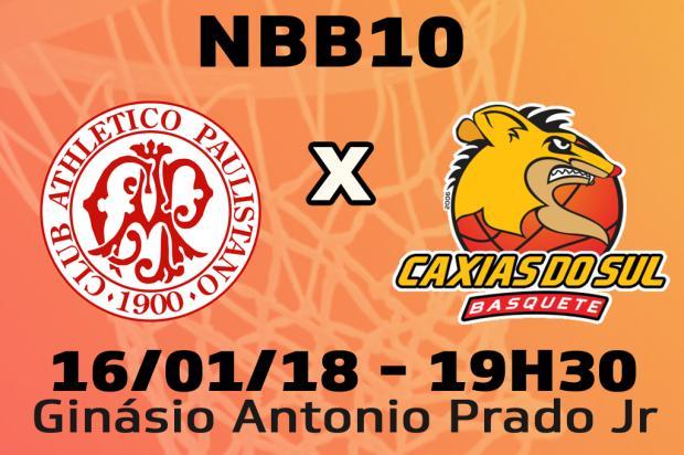 Acompanhe Caxias Basquete e Paulistano jogada a jogada Pioneiro / Pioneiro/Pioneiro