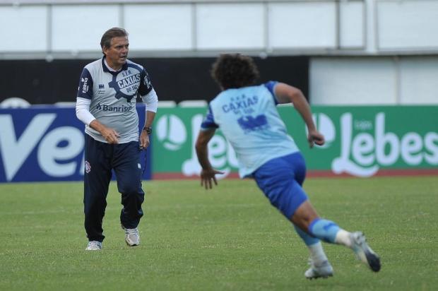 Técnico Winck promete que Caxias não irá apenas se defender na Arena Marcelo Casagrande/Agencia RBS