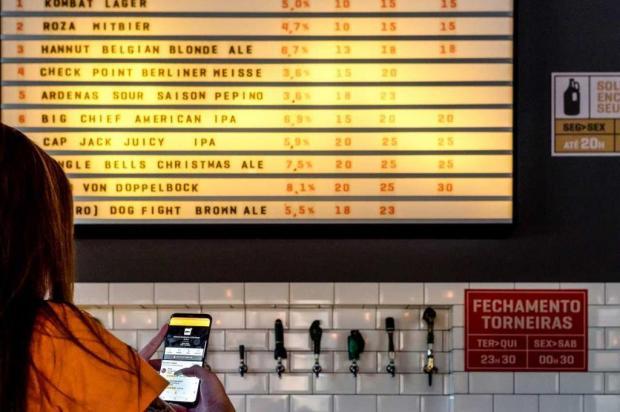Cervejaria de Caxias do Sul é avaliada em aplicativo de fãs da bebida Matheus Salvador/divulgação