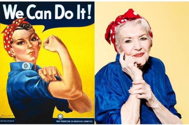 3por4: Dona de uma das ¿caras¿ mais famosas do feminismo morre aos 96 anos Ramona Rosales/Divulgação