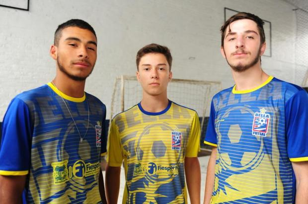 Três talentos do Bella Futsal estão indo para o Minas Roni Rigon/Agencia RBS