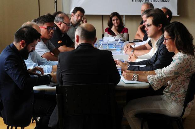 Momentos de tensão no encontro entre prefeitura de Caxias e Visate Marcelo Casagrande/Agencia RBS