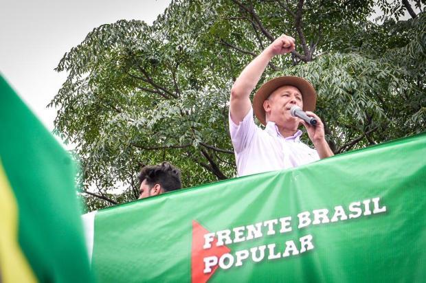 """""""O Brasil está no timing de rejeitar o golpe"""", diz o deputado caxiense Pepe Vargas Luiz Damasceno/Divulgação"""