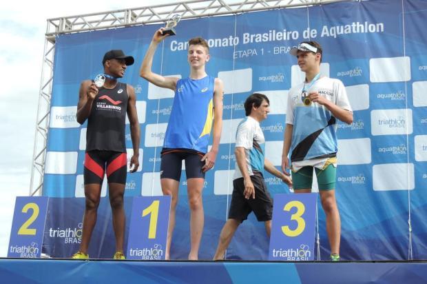 Caxiense Renato Susin vence etapa do Campeonato Brasileiro de Aquathlon Arquivo pessoal/Divulgação