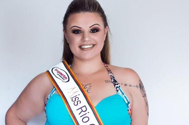 3por4: representante do Estado no Miss Brasil Plus Size pede apoio para participar da etapa nacional Thais Zampieron/Divulgação