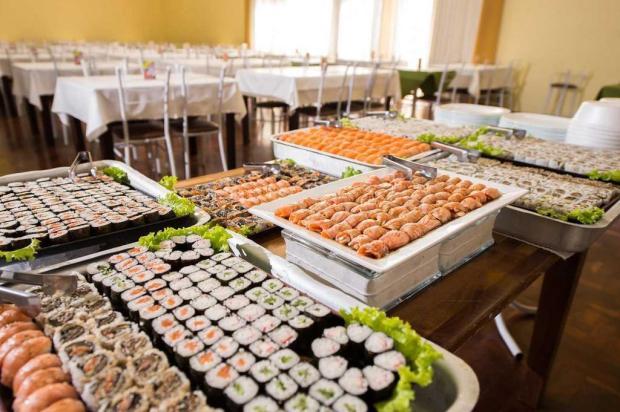 Restaurante Tulipa, de Caxias, lança bufê de sushi também aos sábados Alesi Ditadi/divulgação