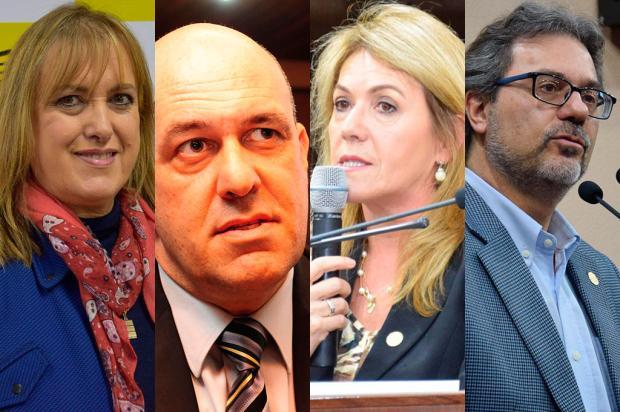 Presidentes de partidos em Caxias do Sul defendem a moralização, mas têm pouca influência nas decisões nacionais Montagem sobre as fotos de Divulgação/