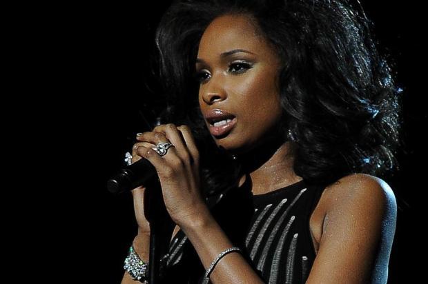 3por4: Jennifer Hudson vai interpretar Aretha Franklin em cinebiografia Robyn Beck/AFP